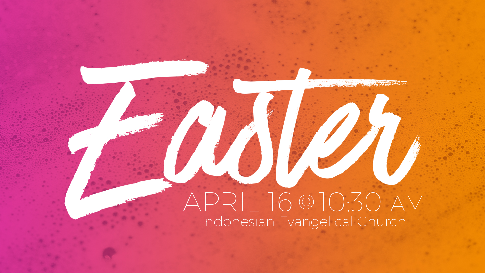 IEC Easter 2017