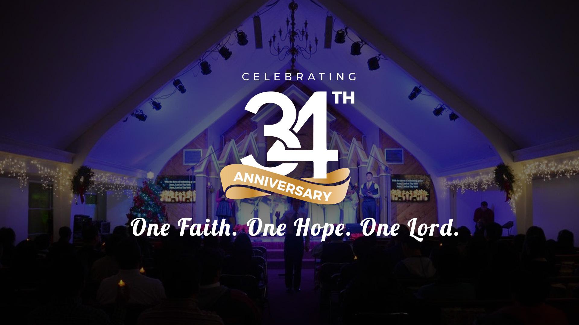 IEC 34th Church Anniversary