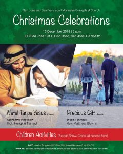 2018 Christmas Celebrations