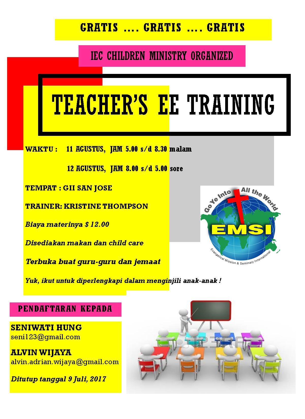 Teacher EE