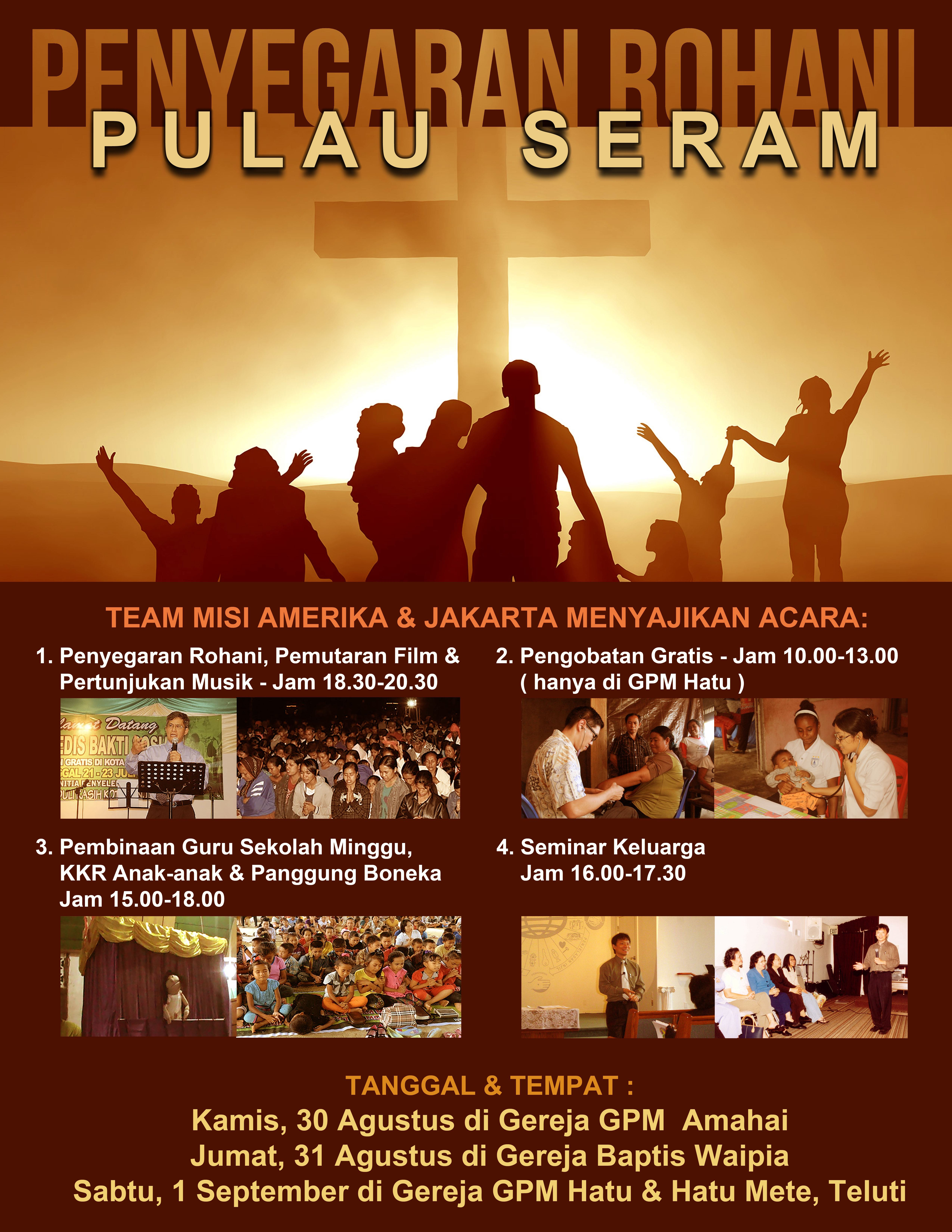 Pulau Seram Mission Trip